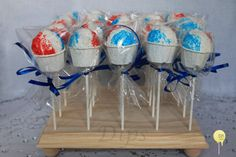 Image result for cake pops that look like snow cones