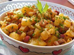 """Grenadýr"" z jednoho pekáčku Czech Recipes, Ethnic Recipes, Potato Salad, Food And Drink, Pork, Potatoes, Sweet, Diet, Lasagna"