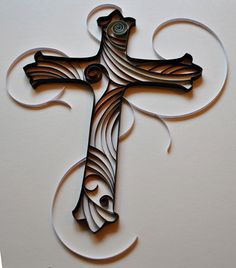My Name is Eileen: Quilled Cross
