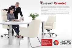 Research Oriented Our office chair comes with lot of concern and research. With regards to strict business occasions, most people think that office needs a warmer and harmonious surroundings. Our designs include a lot of home elements diversifying the use of furniture making it as comfortable and a kind of enjoyment as your home in your daily office tasks. #officechairs #officecomfort #warmersurroundings #home #office