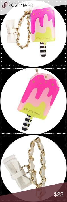 Betsey Johnson Popsicle Key / Bag Clip Super cute and fun Betsey kitsch to jazz up your keys or handbag!!  Perfect accessory for summer! Bundle for discount!  Amy Betsey Johnson Accessories Key & Card Holders
