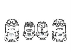 Despicable Minions my coloring