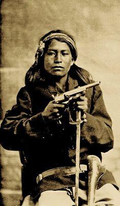 Apache (pos. Chiricahua).