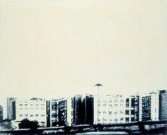 ArchiteXture #43 2002 oil on canvas cm. 130x160