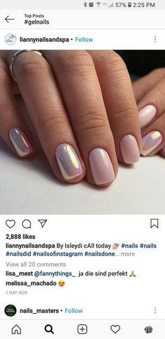 Semi-permanent varnish, false nails, patches: which manicure to choose? - My Nails Nude Nails, Gel Nails, Acrylic Nails, Nail Polish, Pale Pink Nails, Nail Nail, Shellac, Manicures, Classy Nails
