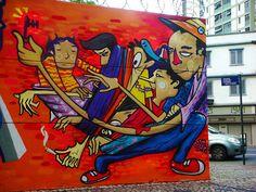 Graffite Belo Horizonte Brasile