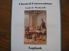 Classical Conversations Cycle 3 Lapbooks- I think I want to do these again for Gideon and LIesl