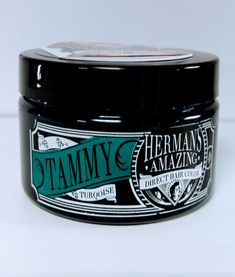 Tammy Turqoise From Herman's Amazing Direct Hair Color. Comes in 115ml pot, easy to apply and it last approx. 6 to 11 weeks. Colours will fade in time, changing the tone of the colour into a beautiful soft shade.