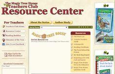 Magic Tree House:  The Website