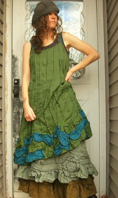 Petal Dress by sarahclemensclothing on Etsy, $149.00