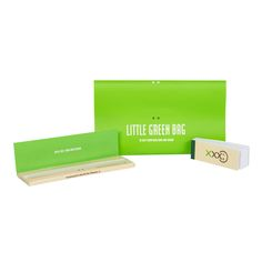Little Green Bag + Rolling Paper + Tips
