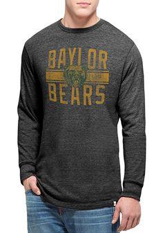 Baylor Bears Mens Black Long Sleeve Tee
