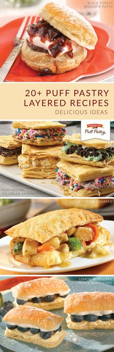 Pepperidge Farm® Puff Pastry pairs perfectly with any occasion. Celebrate life's sweeter moments with this collection of tasty party recipes. Combine layers of Pepperidge Farm® Puff Pastry Sheets with sweet and savory ingredients alike. Click here to learn how.