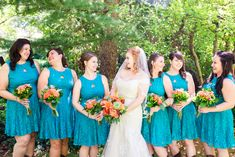 The hues in today's featured wedding are out-of-this-world colorful. Inspired by the picturesque desert town of Sedona, Arizona, Reena & Michael chose a bright Orange Wedding Colors, Indian Garden, Orange Country, Orange And Turquoise, Festival Wedding, Park Weddings, Bridesmaid Dresses, Wedding Dresses, Halloween Party