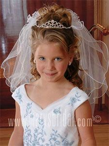 hair idea for A's first communion?