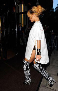 Riri's boots tho