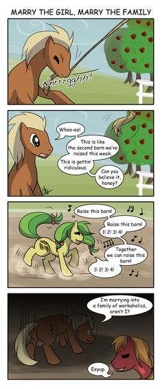 MLP - Marry the Girl, Marry The Family by liliy.deviantart.com on @deviantART