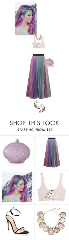 """mermaid life"" by mimas-style ❤ liked on Polyvore featuring Moonbeam, Christopher Kane, The Gypsy Shrine, Puma, Gianvito Rossi, Paolo Costagli and ZeroUV"