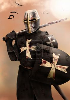 Elite: Hospitalier Knight by dmavromatis