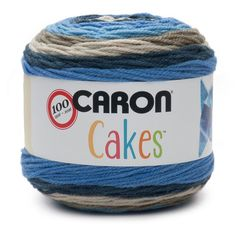 Caron Cakes Yarn - These are free crochet patterns which show off the yarn's self-striping capability beautifully - shawls, scarfs, sweaters, bags, etc. Caron Cakes Crochet, Crochet Yarn, Knitting Yarn, Free Crochet, Crochet Afghans, Crochet Blankets, Crochet Stitches, Crochet Hooks, Caron Cakes Patterns