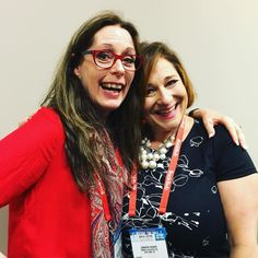 Laurie Halse Anderson update: Got to hang out with Jennifer Weiner at #bea16 today! Her first middle grade novel comes out this fall! #lauriehalseanderson #novelist #writinglife #speak