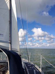 IJsselmeer, Workum, Friesland. The Netherlands