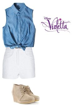 """Violetta 3"" by cubed-debuc ❤ liked on Polyvore featuring Ermanno Scervino and Clarks Originals"