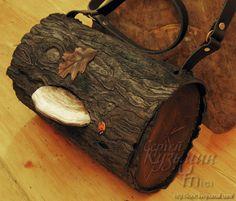 Leather Log Bag