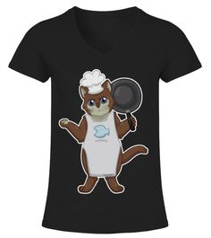 Teezily sells Unisex Tees Chef Cat T-Shirt online ▻ Fast worldwide shipping ▻ Unique style, color and graphic ▻ Start shopping today!
