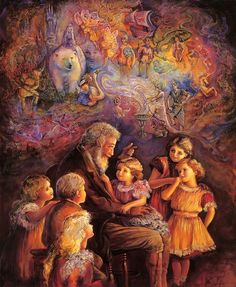 """""""Once Upon a Time 2"""" par Josephine Wall"""