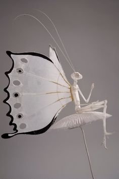 Polly Verity wire & translucent paper mythical hybrid creature