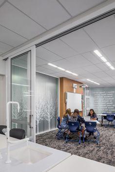 Woodville High School STEM | Studio Nine Architects Architects, Conference Room, High School, Studio, Furniture, Home Decor, Decoration Home, Room Decor, Grammar School