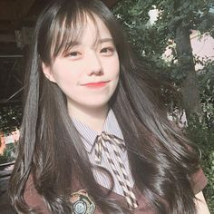 Korean Beauty Girls, Pretty Korean Girls, Cute Korean Girl, Asian Girl, Ulzzang Hair, Ulzzang Korean Girl, Korean Girl Photo, Girl Korea, Cute Japanese Girl
