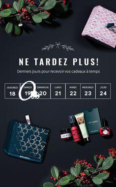 Dernières heures pour recevoir votre cadeau avant Noël !