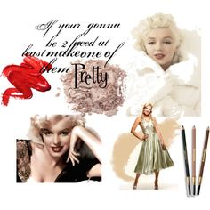 """""""If you're going to be two-faced, at least make one of them pretty."""" - Marilyn Monroe"""