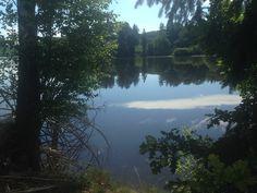 Bick auf den Hevesee, der kurz vorm Möhnesee liegt
