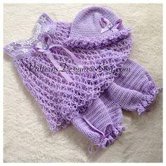 3 PATTERNS 0-24 Months Crochet Raneem di SuziesTalentPatterns
