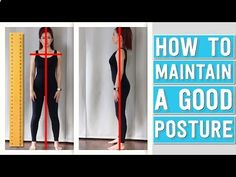 how to maintain a good posture youtube