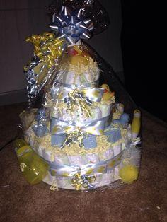 Diaper cake 3 tier