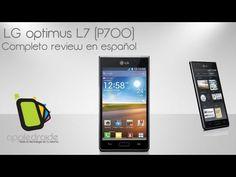 LG optimus L7 (P700) Completo análisis en español - YouTube