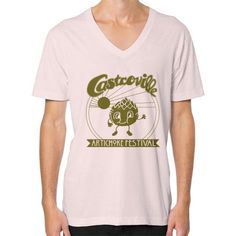 CASTROVILLE ARTICHOKE FESTIVAL V-Neck (on man)