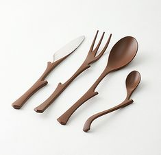 Wooden EDA cutlery, it looks gorgeous! :)