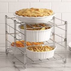 3-Tier Adjustable Oven Rack