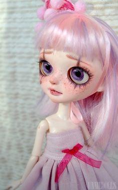 Whoopie clown - Customized Tangkou doll by UNNIEDOLLS