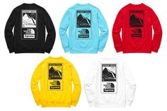Supreme and The North Face drop a second round of throwback Steep Tech -branded… 2dcf35998