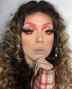 creative makeup looks Dope Makeup, Makeup Eye Looks, Baddie Makeup, Glam Makeup Look, Vintage Makeup Looks, Crazy Makeup, Flawless Makeup, Gorgeous Makeup, Skin Makeup