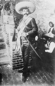 April 10th, 1919 The famous Mexican revolutionary leader Emiliano Zapata is ambushed and killed by government forces in Morelos.
