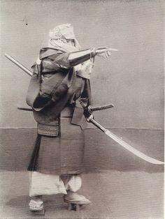 小川一真の著書「Military Costume in Old Japan」の写真
