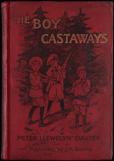 Barrie created this adventure story in 1901 for the Llewelyn Davies family. Barrie befriended the Llewelyn Davies family in the… J M Barrie, Miss Moss, Finding Neverland, Lost Boys, Christmas Books, Coming Of Age, Stories For Kids, Antique Books, Memories