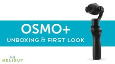 DJI Osmo+ (Plus) with X3 Zoom Camera Unboxing and Review https://www.camerasdirect.com.au/dji-drones-osmo/dji-osmo-plus